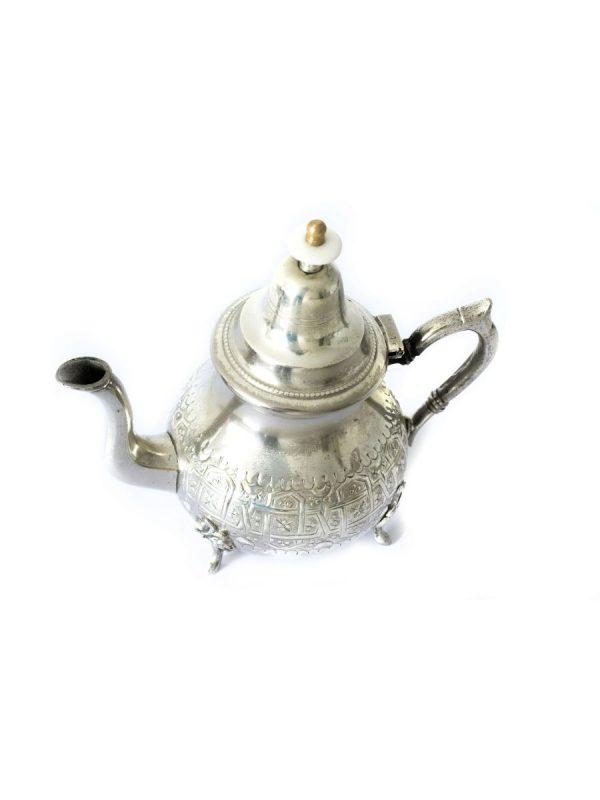 zilveren theepot marokkaans 4 persoons