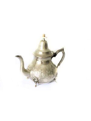 marokkaanse theepot zilver 4 persoons