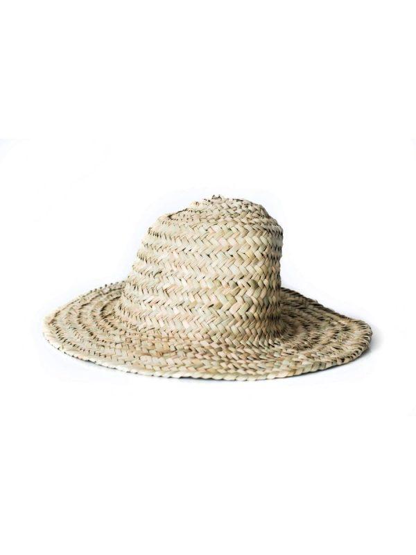 zeegras rieten hoed handgemaakt marokko