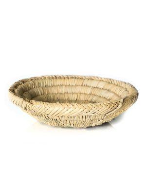 gevlochten broodmand handgemaakt marokko zeegras
