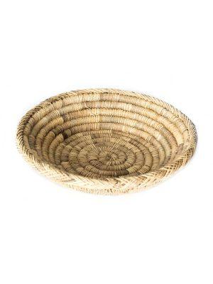 zeegras mand riet broodmand marokko handgemaakt